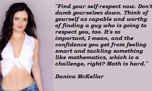 Danica McKellar's quote #7