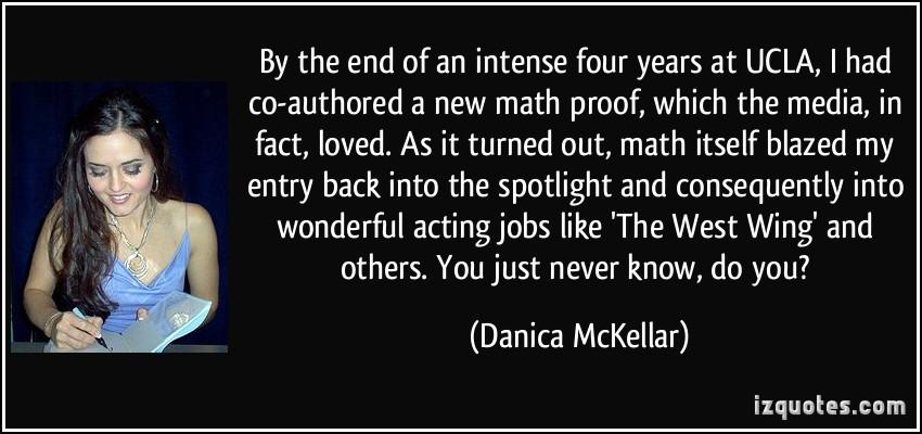 Danica McKellar's quote #4