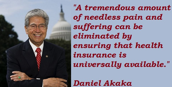 Daniel Akaka's quote #1