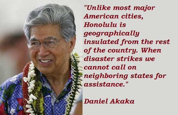 Daniel Akaka's quote #4
