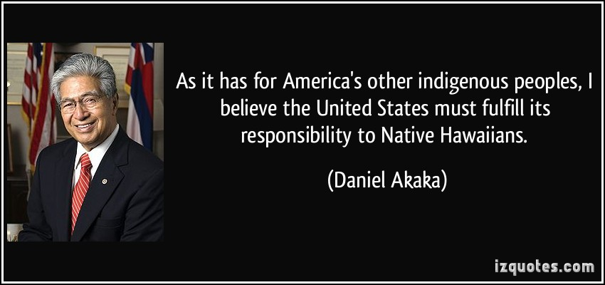 Daniel Akaka's quote #3