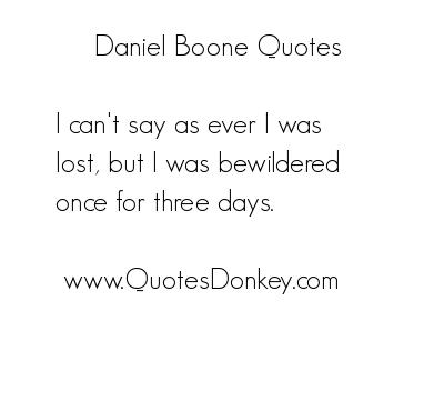 Daniel Boone's quote #6