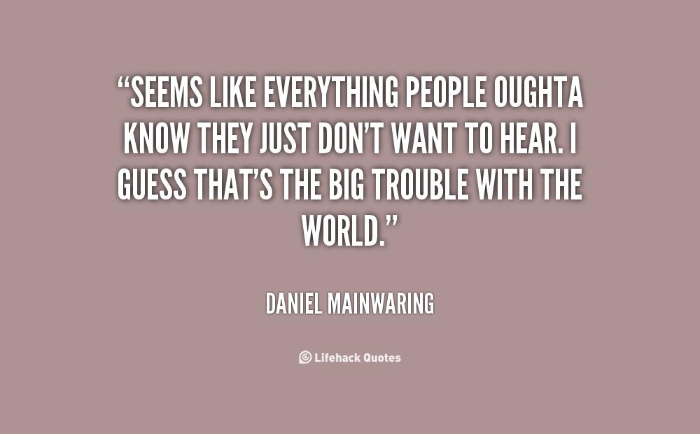 Daniel Mainwaring's quote #7
