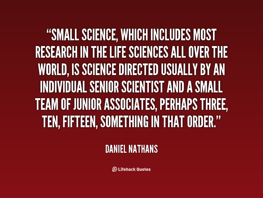 Daniel Nathans's quote #4
