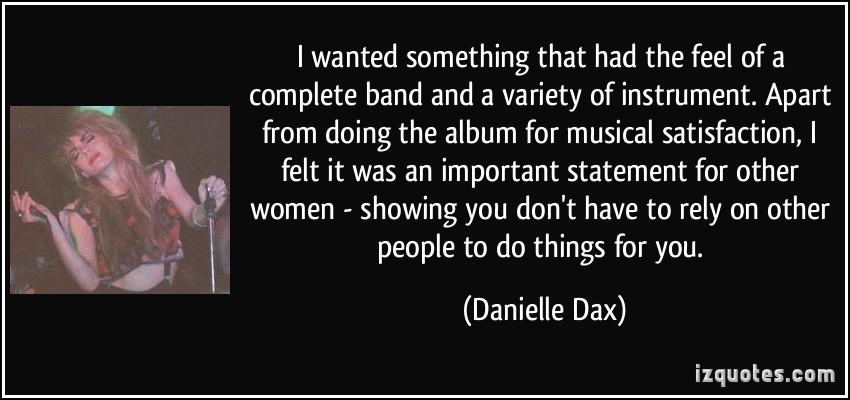 Danielle Dax's quote #4