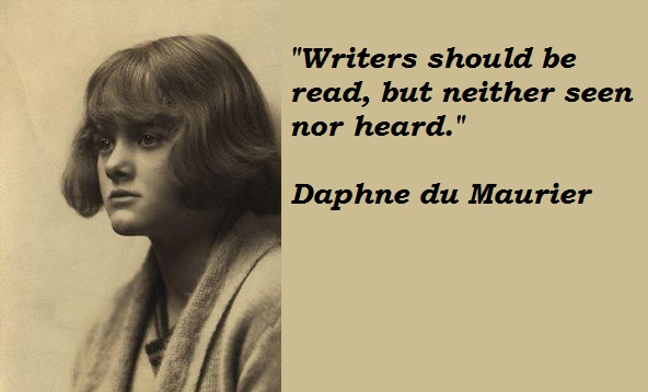 a biography of daphne du maurier Daphne du maurier also known as 'lady browning' was a british writer and  playwright born on 13th may 1907 in london read daphne du maurier's  biography.