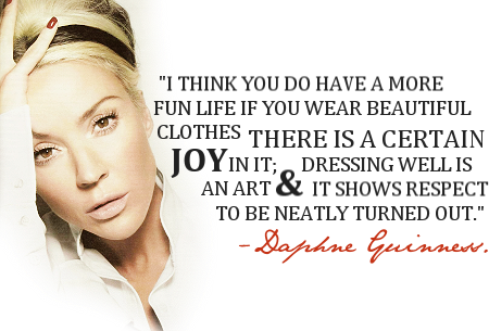 Daphne Guinness's quote #2