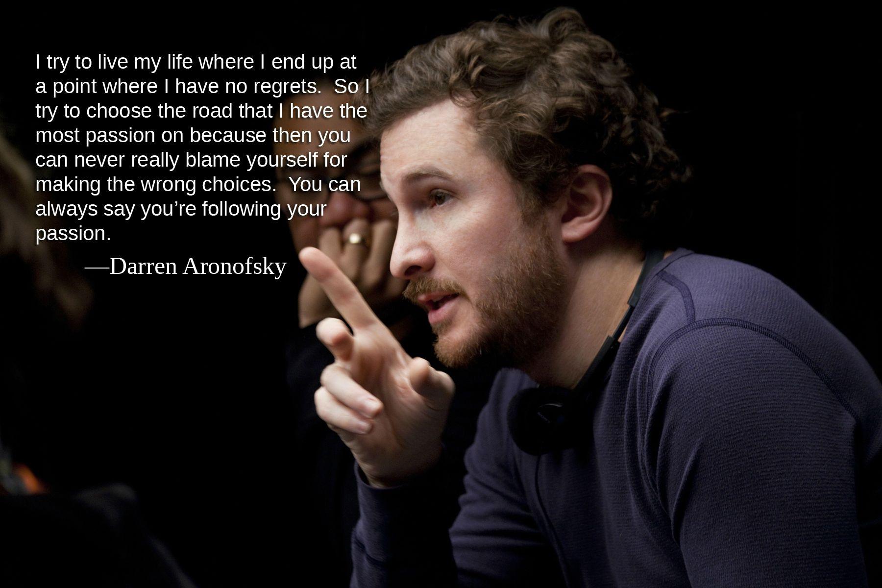 Darren Aronofsky's quote #7