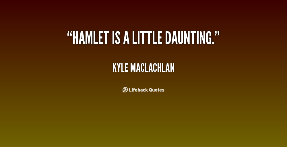 Daunting quote #1