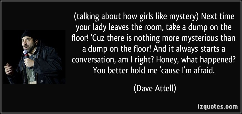 Dave Attell's quote #6