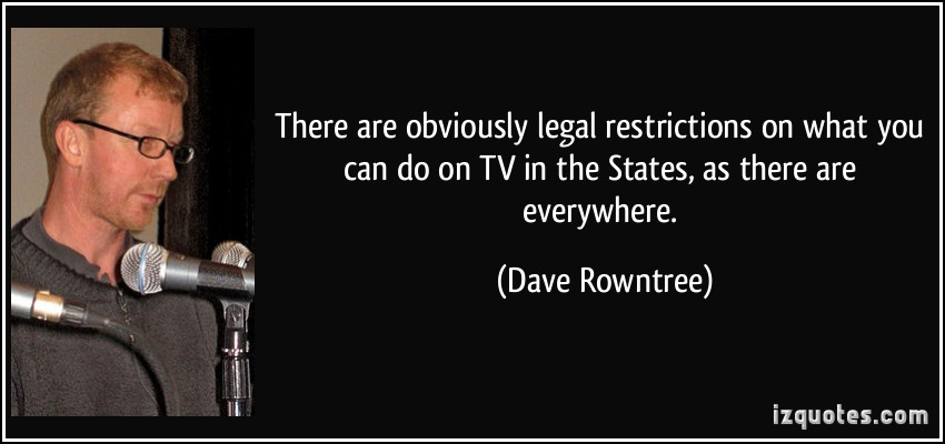 Dave Rowntree's quote #1