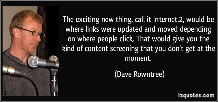 Dave Rowntree's quote #2