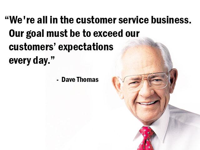 Dave Thomas's quote #4