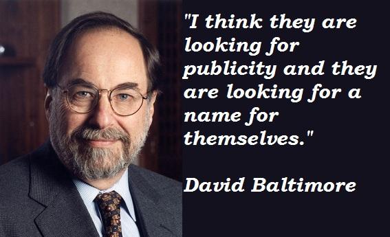 David Baltimore's quote #2
