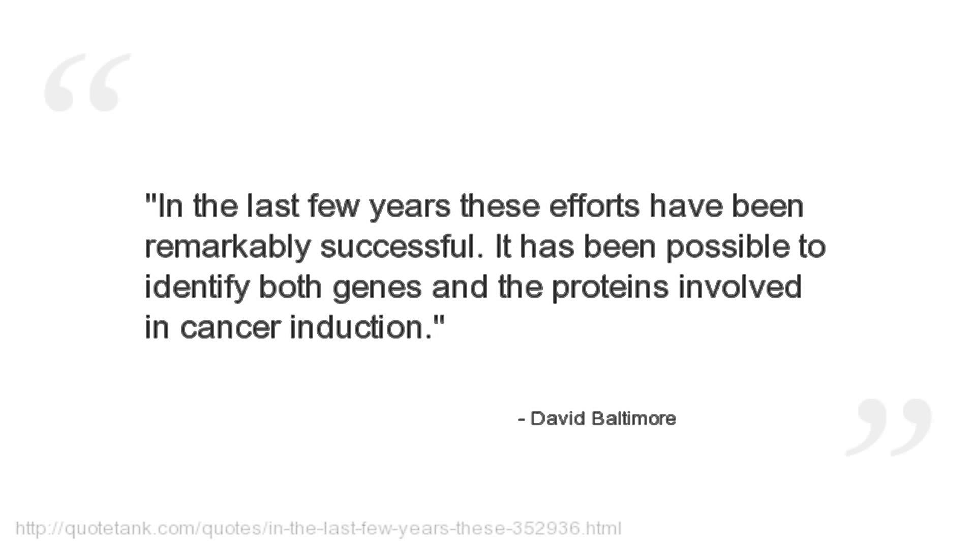 David Baltimore's quote #4