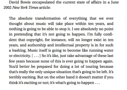 David Bowie quote #1