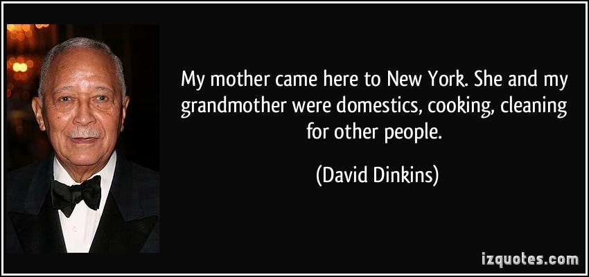 David Dinkins's quote #1