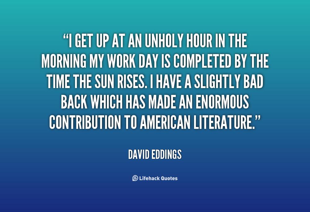 David Eddings's quote