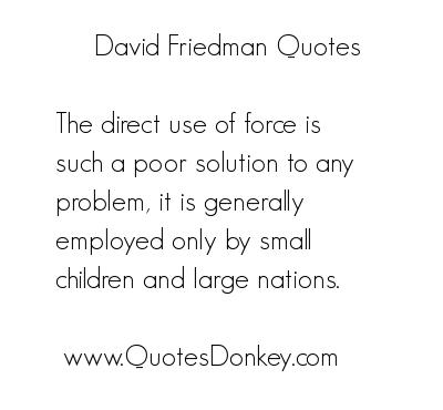 David Friedman's quote #6