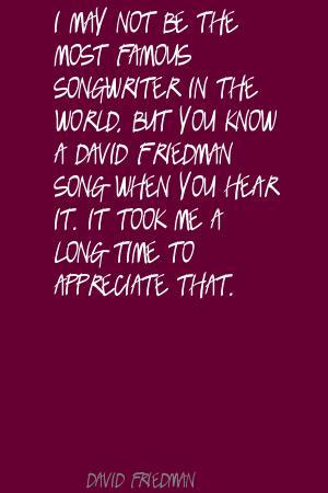 David Friedman's quote #1