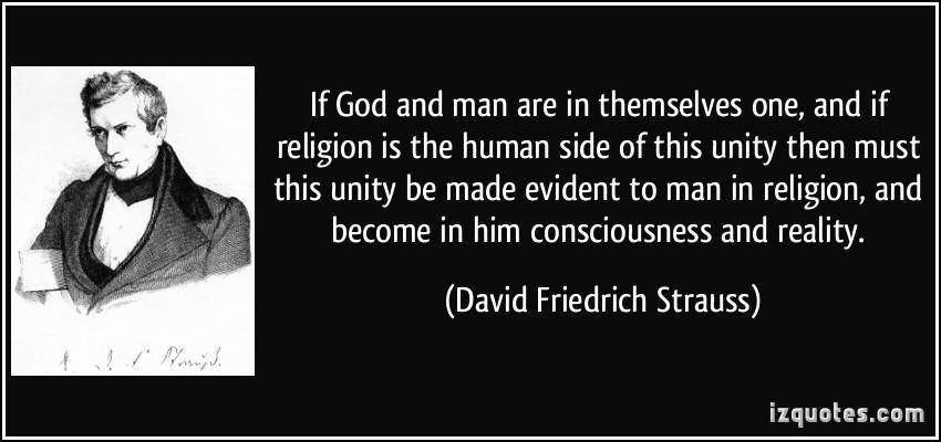 David Friedrich Strauss's quote