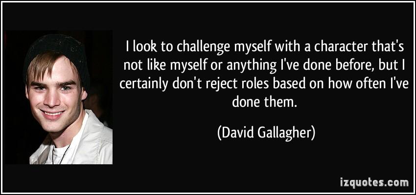 David Gallagher's quote #3