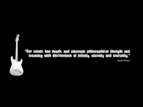 David Gilmour's quote #7