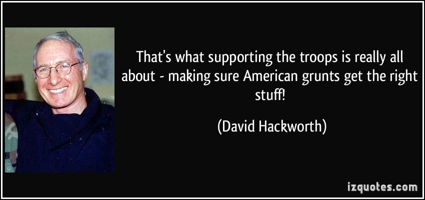 David Hackworth's quote #3