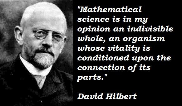 David Hilbert's quote #6