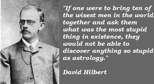 David Hilbert's quote #5