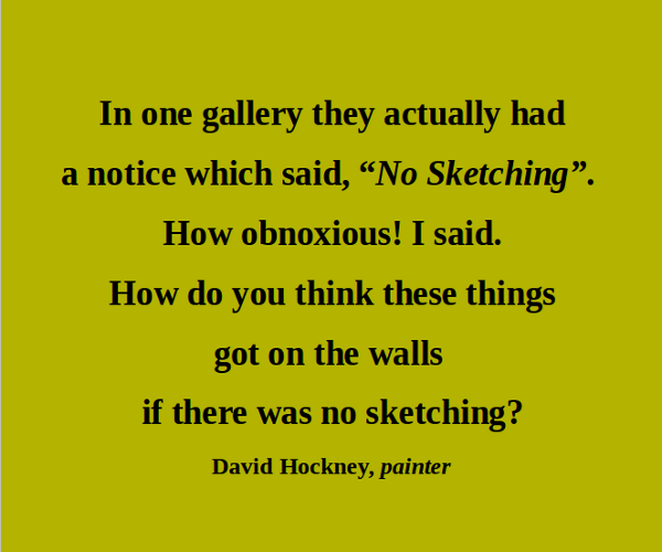 David Hockney's quote #1