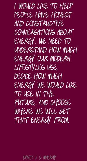 David J. C. MacKay's quote #1