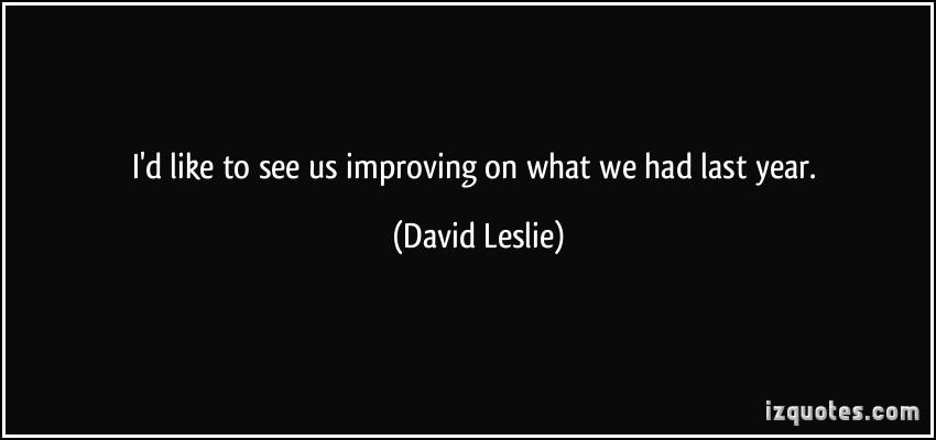 David Leslie's quote #4