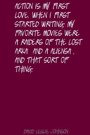 David Leslie's quote #5