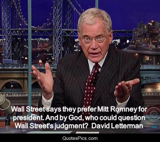 David Letterman quote #2