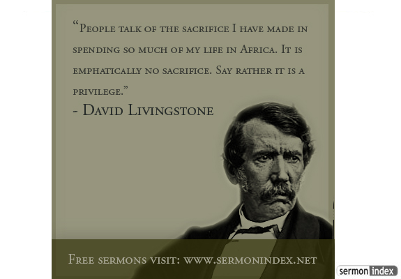David Livingstone's quote #3