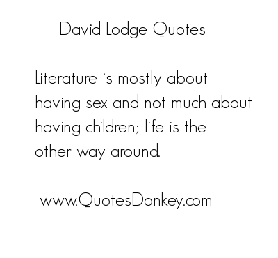 David Lodge's quote #1