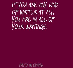 David M. Evans's quote