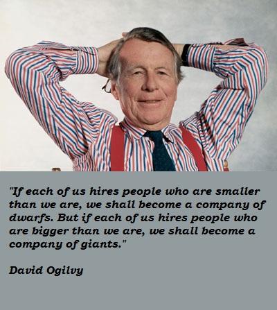 David Ogilvy's quote #2