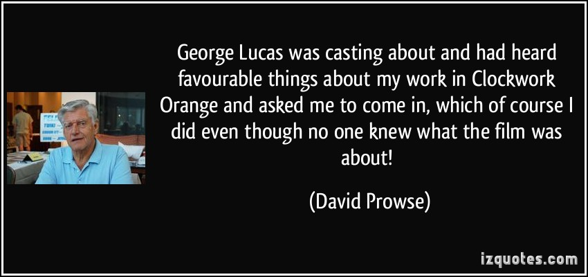 David Prowse's quote #3