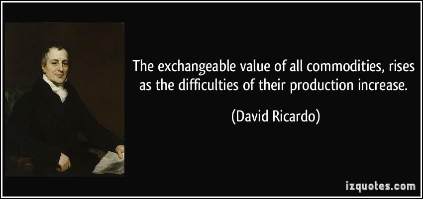 David Ricardo's quote #5
