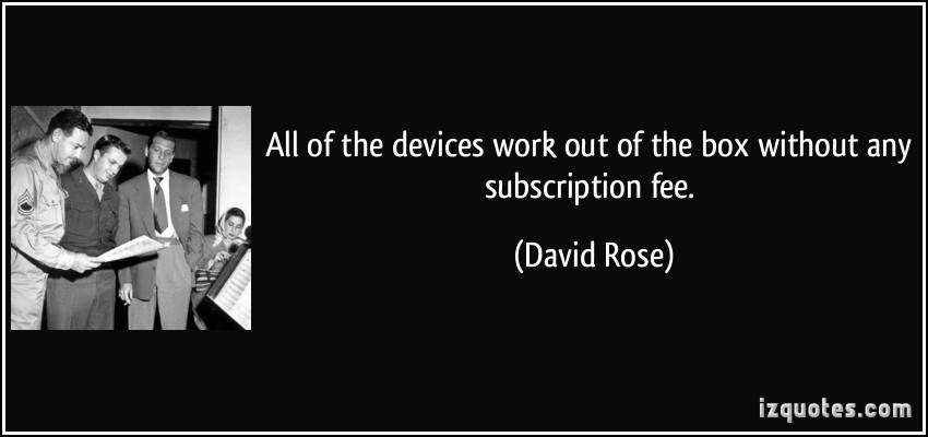 David Rose's quote #3