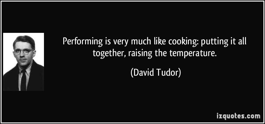 David Tudor's quote #1