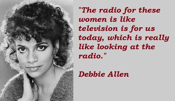 Debbie Allen's quote #7