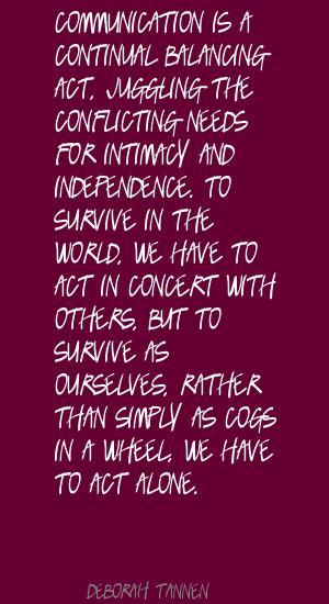 Deborah Tannen's quote #4