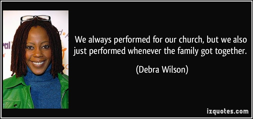 Debra Wilson's quote #1