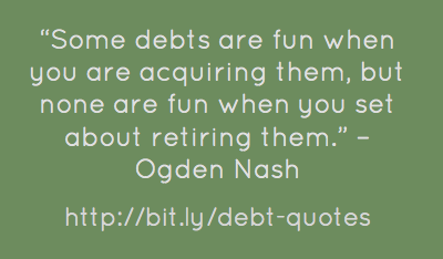 Debts quote #2