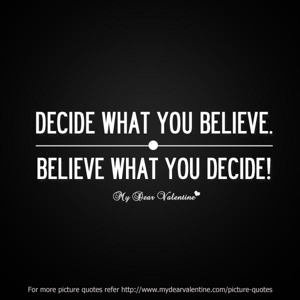 Decide quote #3