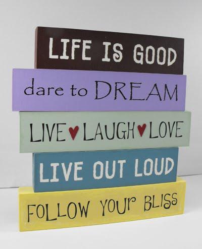 Decorative quote #1