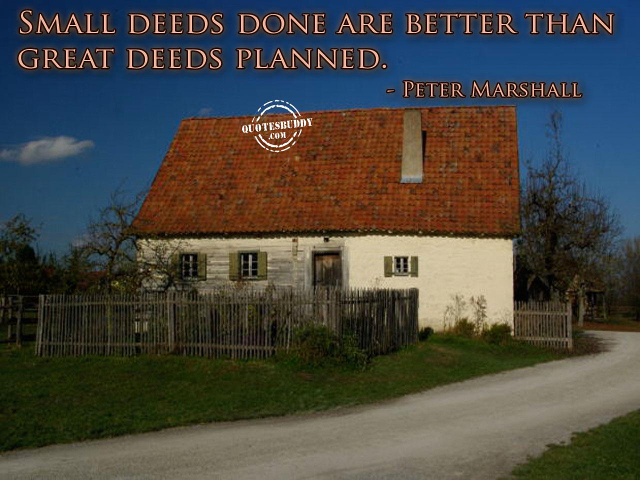 Deeds quote #3